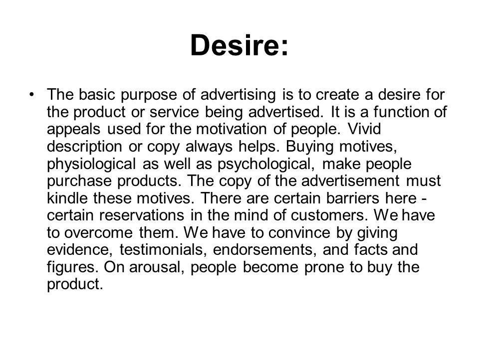 Desire: