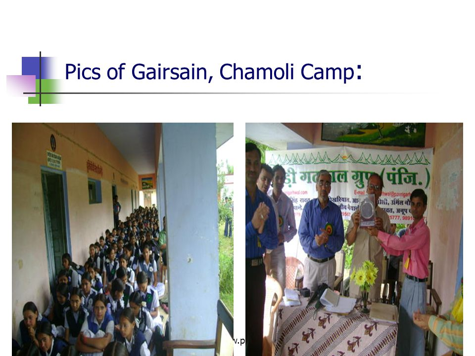 Pics of Gairsain, Chamoli Camp: