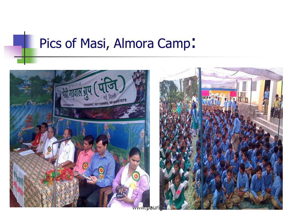 Pics of Masi, Almora Camp:
