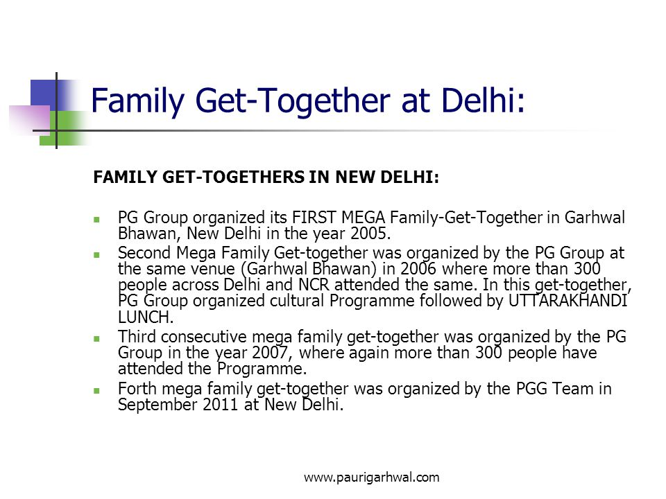 Family Get-Together at Delhi: