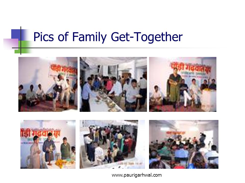 Pics of Family Get-Together