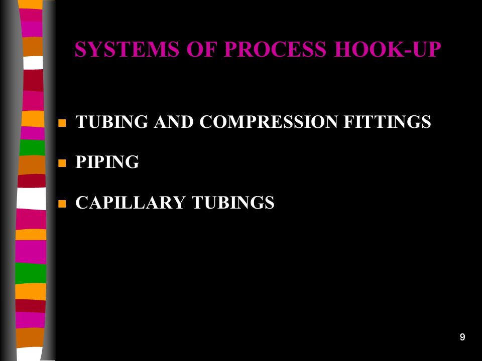 SYSTEMS OF PROCESS HOOK-UP