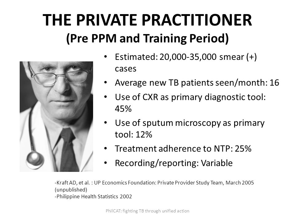 THE PRIVATE PRACTITIONER (Pre PPM and Training Period)