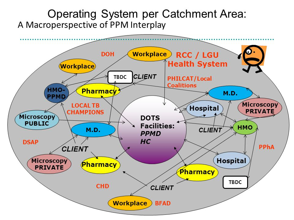 Operating System per Catchment Area: