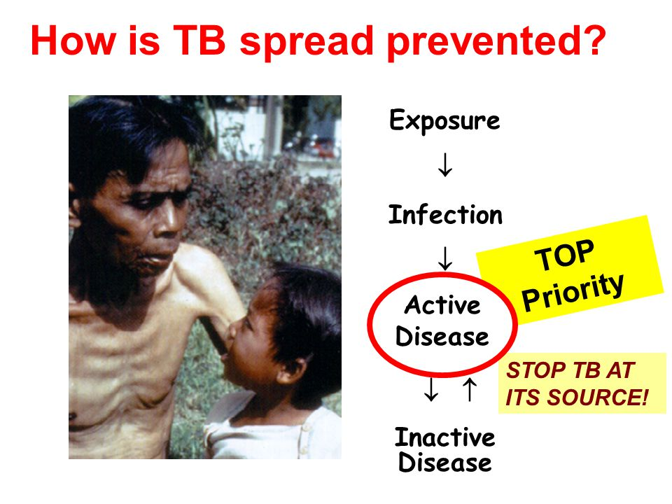 How is TB spread prevented