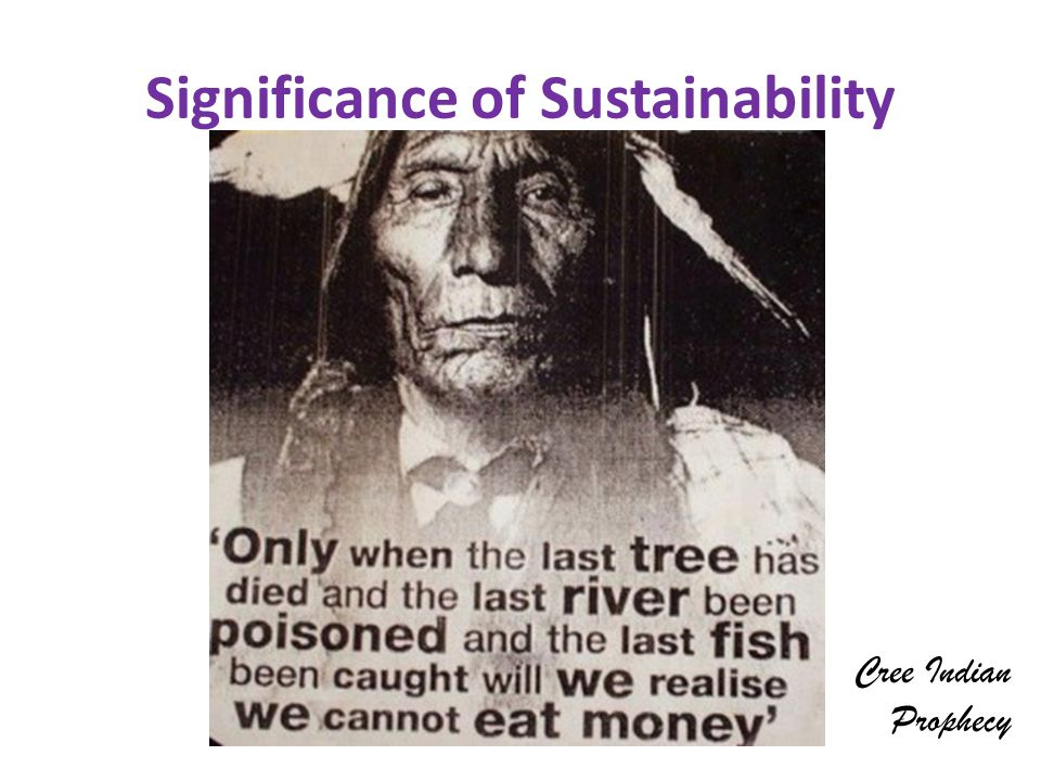 Significance of Sustainability