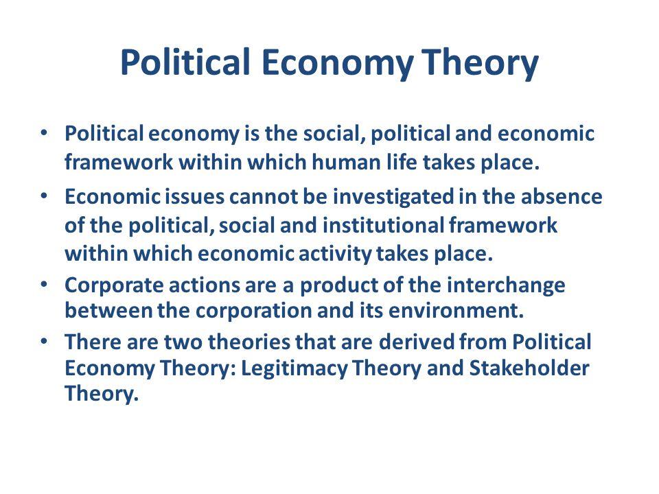 Political Economy Theory