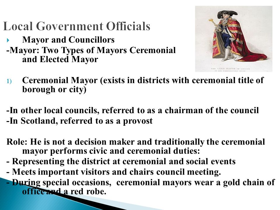 Local Government Officials