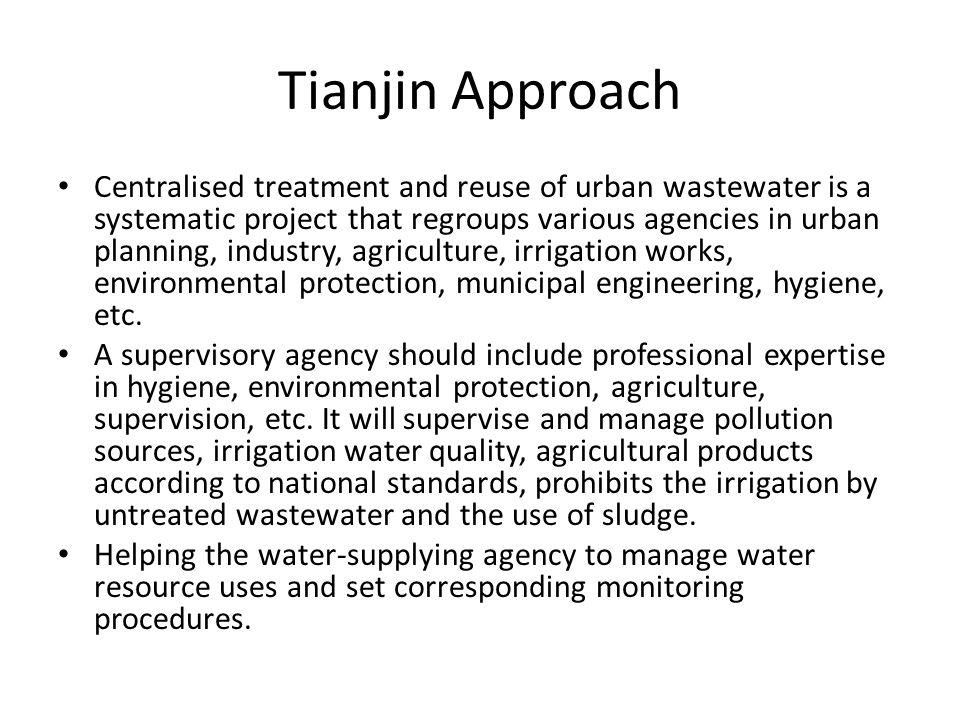 Tianjin Approach