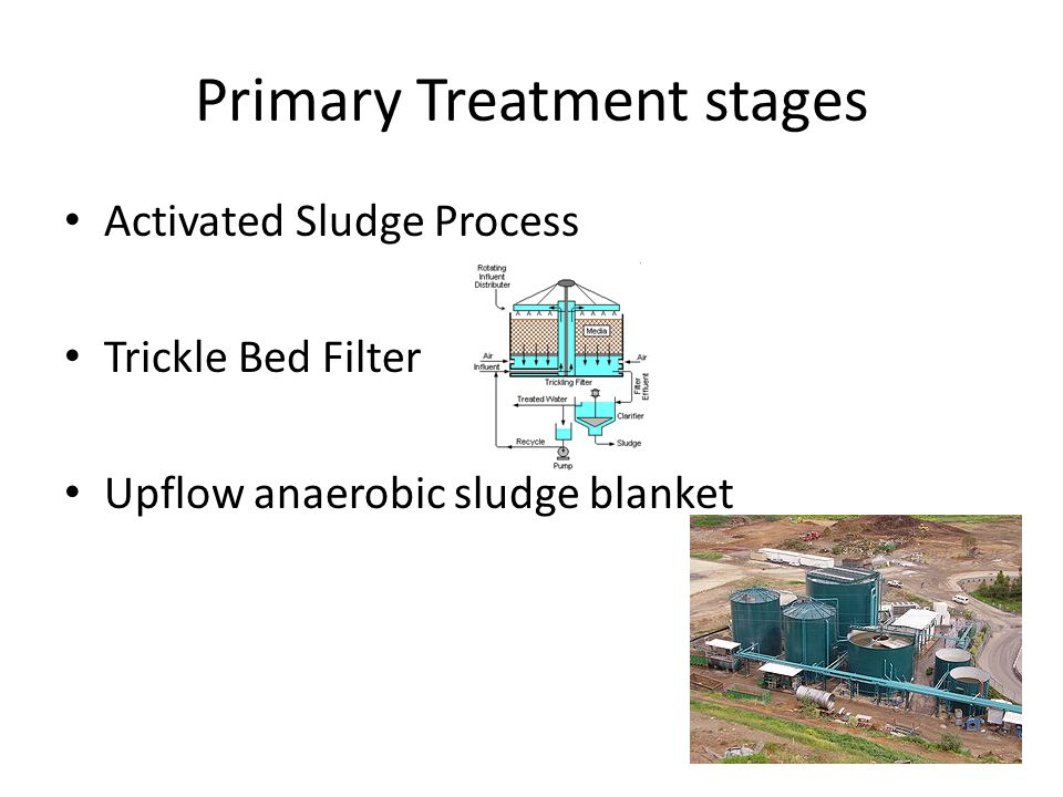 Primary Treatment stages