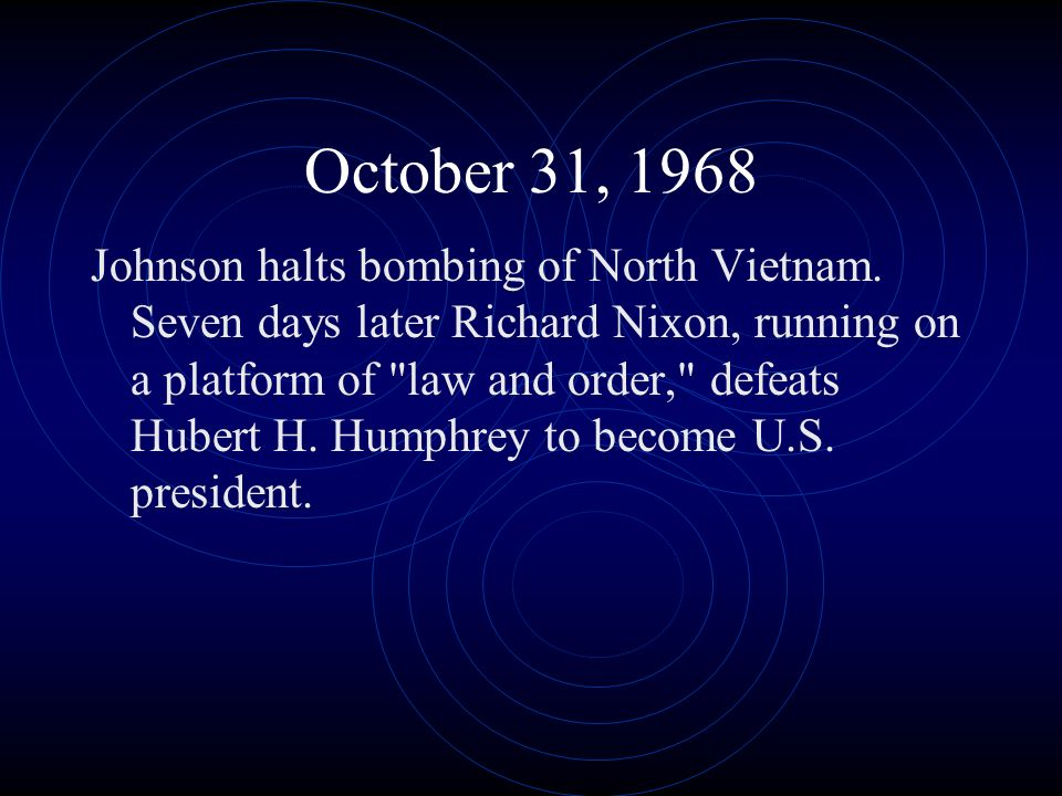 October 31, 1968