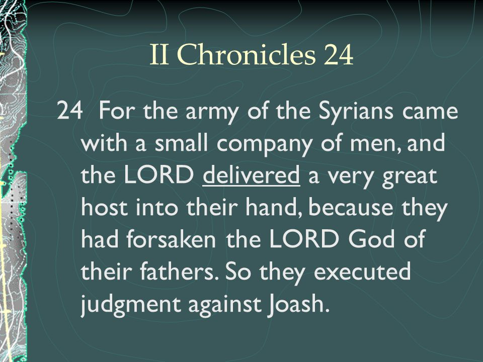II Chronicles 24