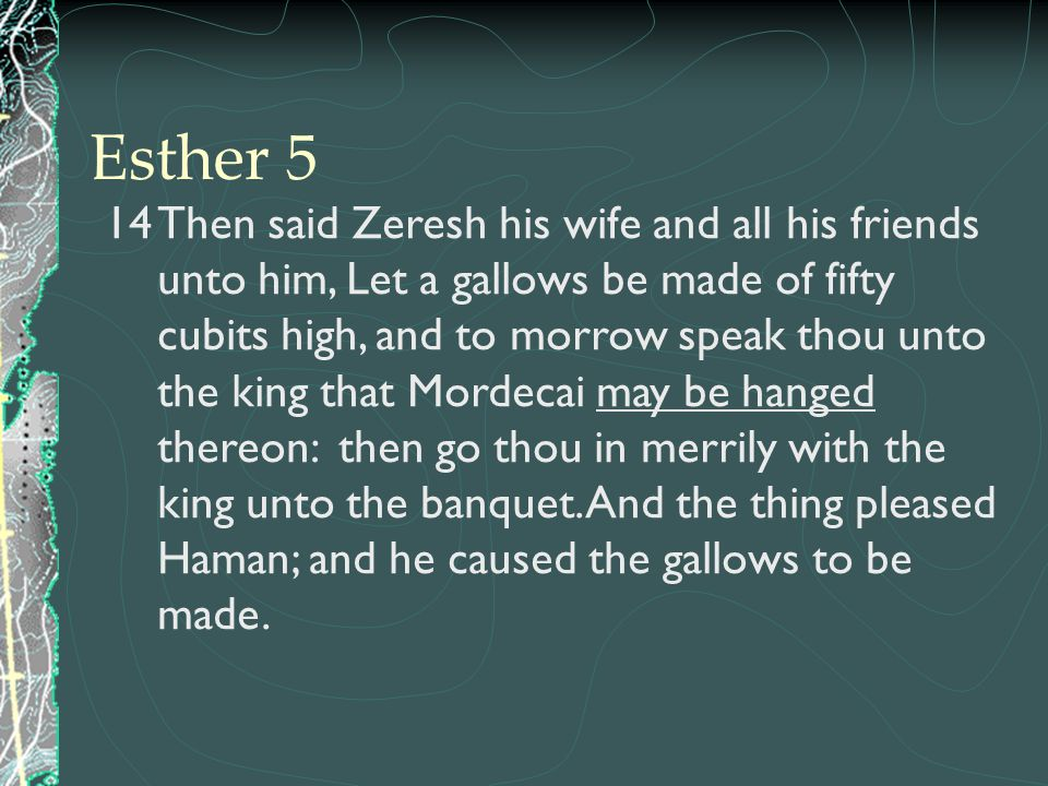 Esther 5