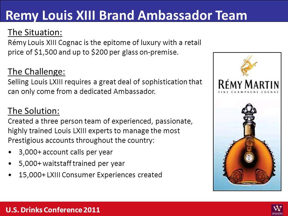Remy Louis XIII Brand Ambassador Team