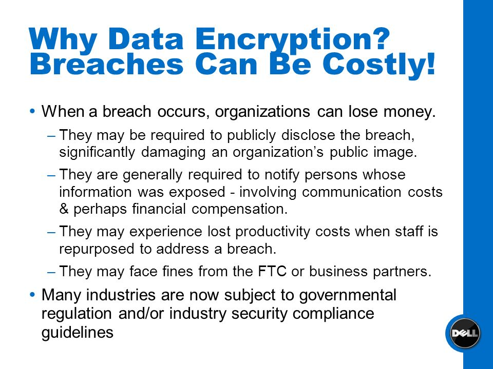 Why Data Encryption Breaches Can Be Costly!