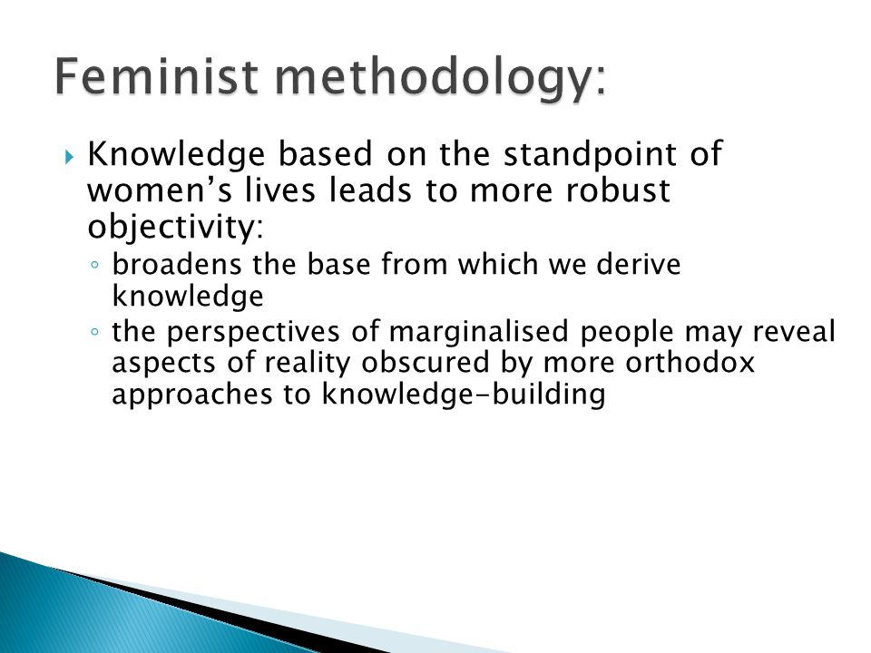Feminist methodology: