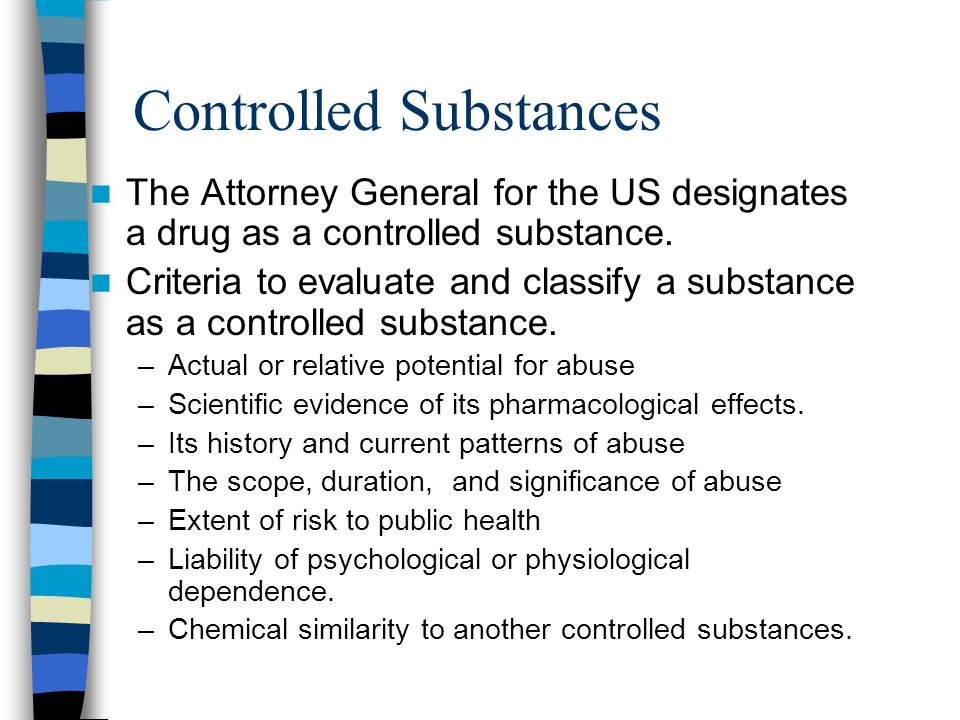 Controlled Substances
