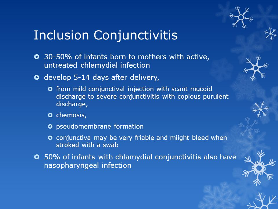 Inclusion Conjunctivitis