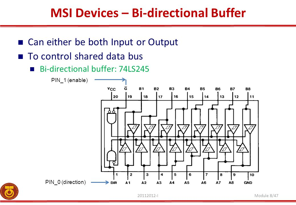MSI Devices – Bi-directional Buffer