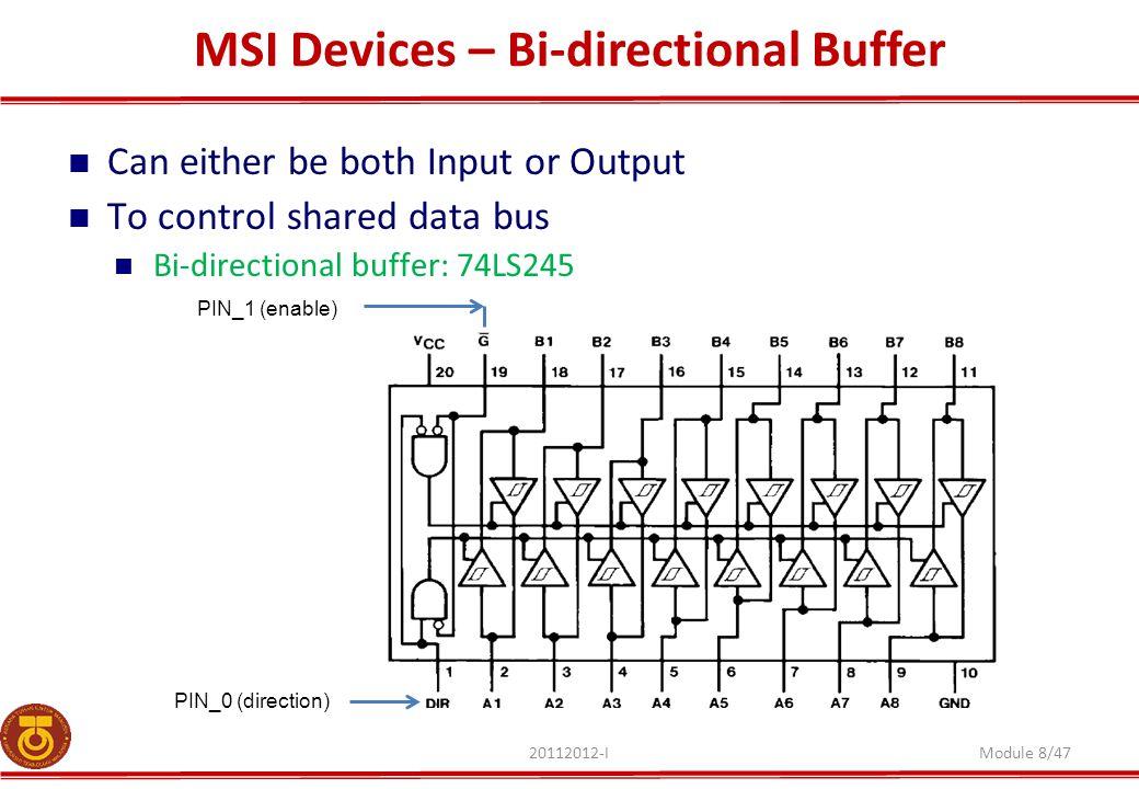 MSI Devices – Bi-directional Buffer