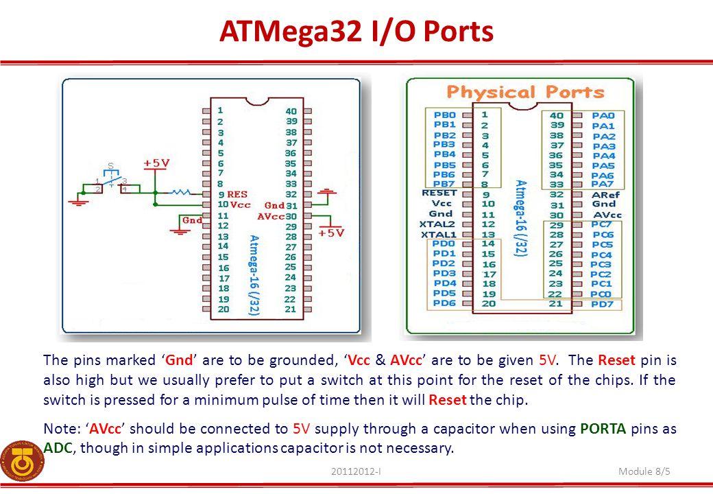 ATMega32 I/O Ports