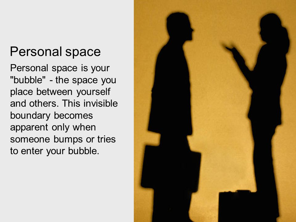 Personal space