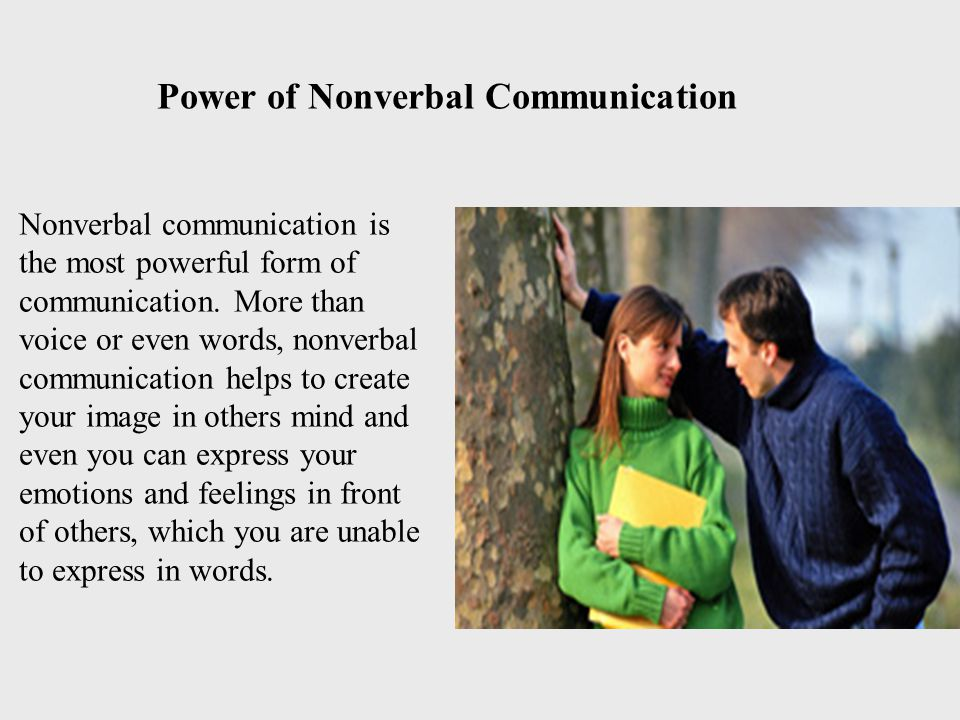 Power of Nonverbal Communication