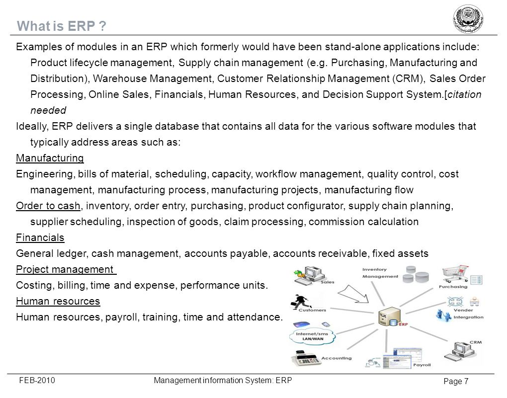 4/6/2017 What is ERP