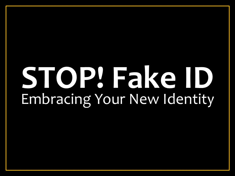 Embracing Your New Identity