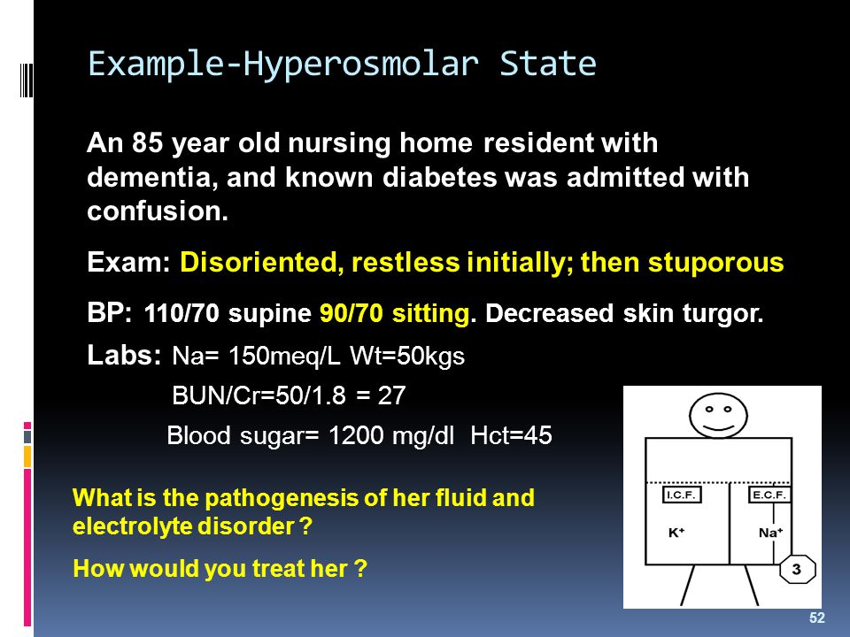 Example-Hyperosmolar State
