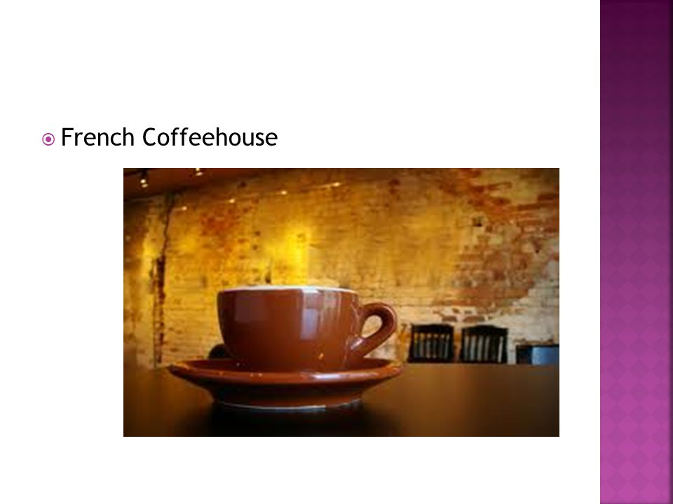 French Coffeehouse