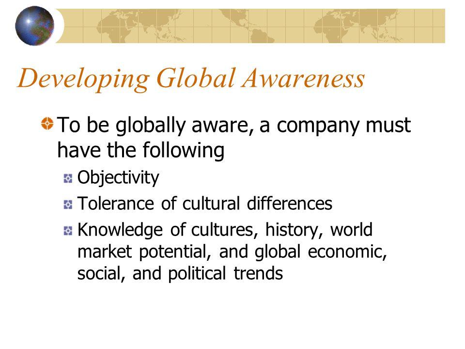 Developing Global Awareness