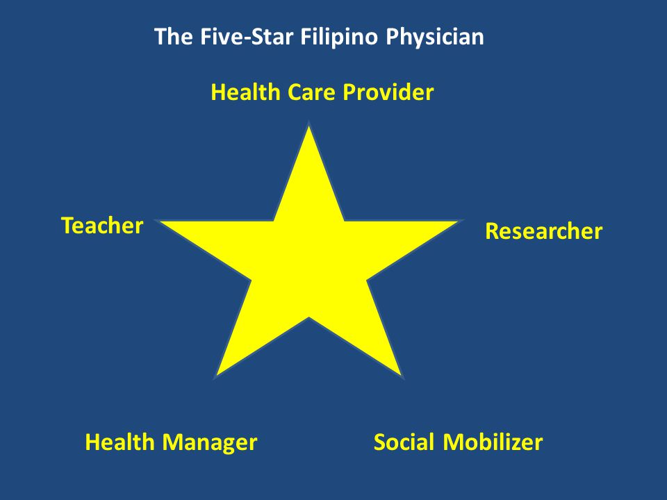 The Five-Star Filipino Physician
