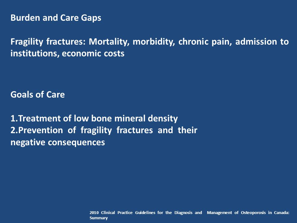Treatment of low bone mineral density