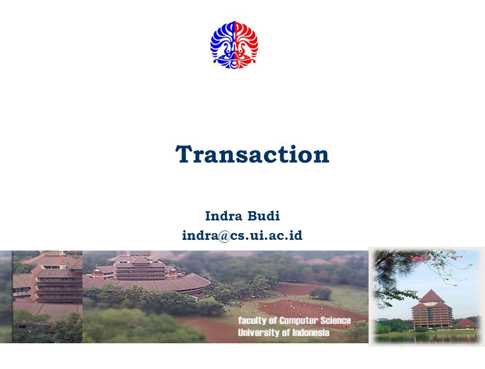 Indra Budi indra@cs.ui.ac.id