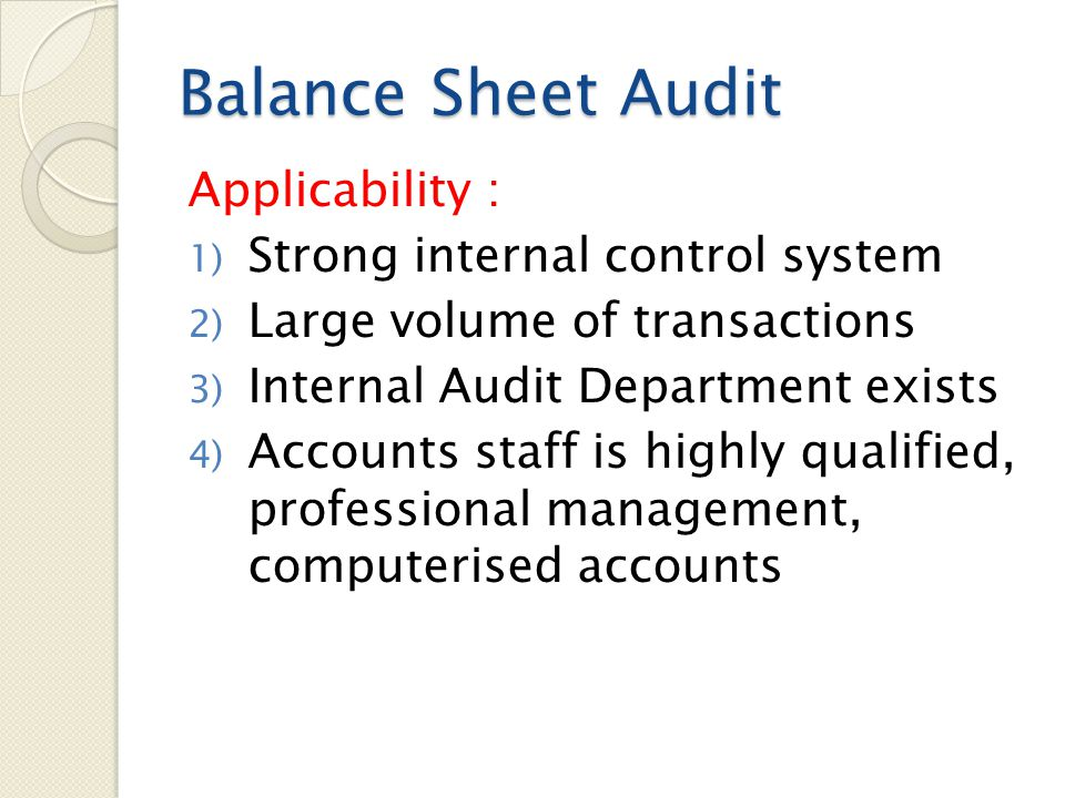 15 Balance Sheet ...  Professional Balance Sheet