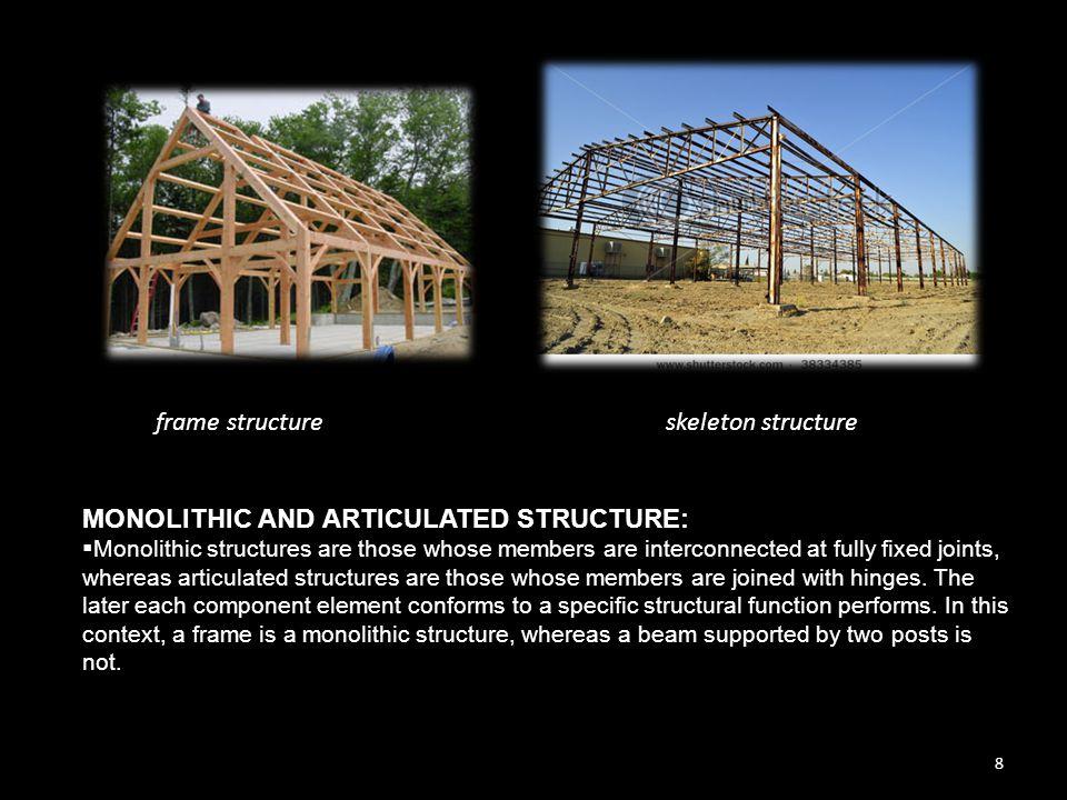frame structure skeleton structure