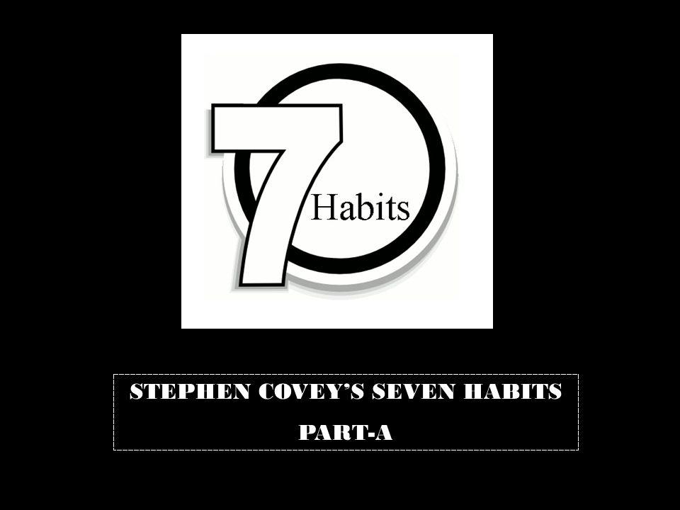 STEPHEN COVEY'S SEVEN HABITS