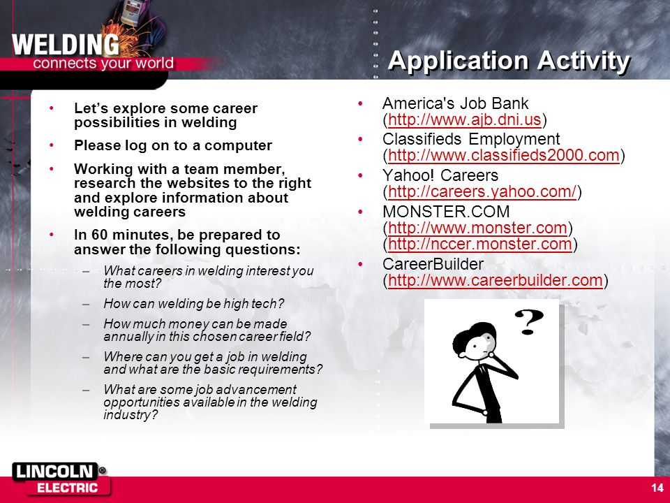 Application Activity America s Job Bank (http://www.ajb.dni.us)