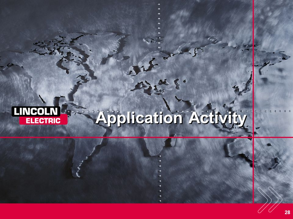 Application Activity SECTION OVERVIEW: