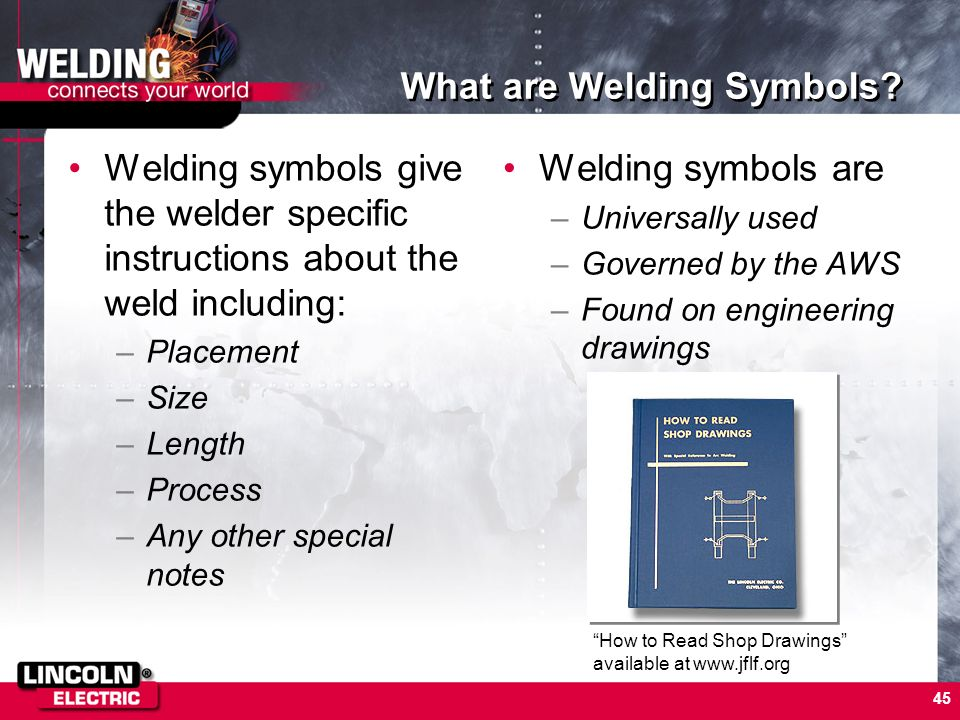 What are Welding Symbols