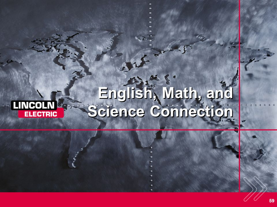 English, Math, and Science Connection