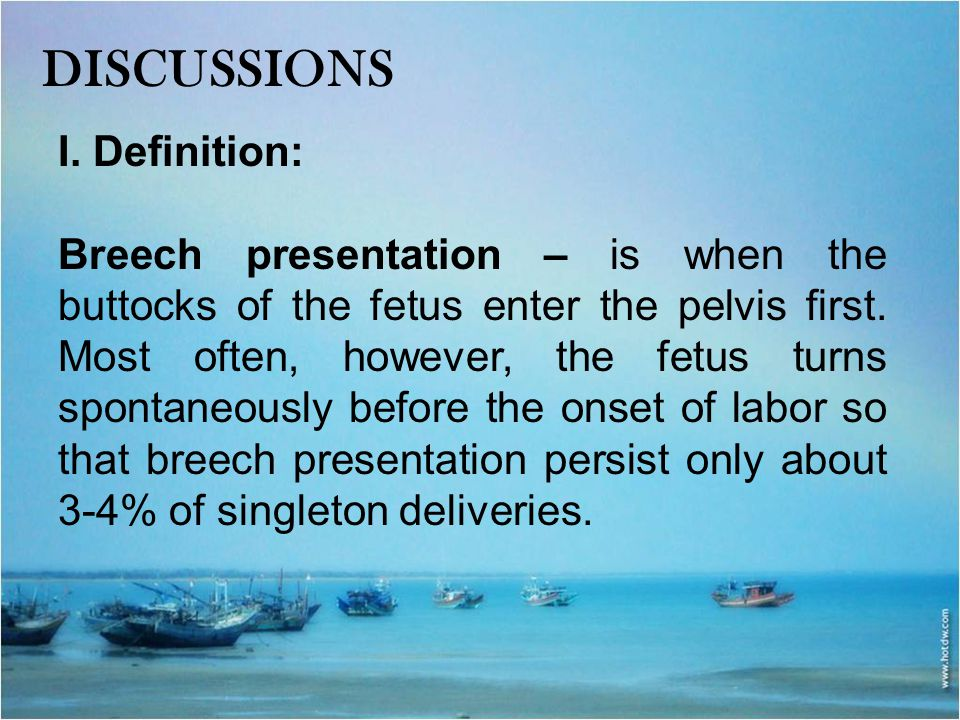 discussions I. Definition: