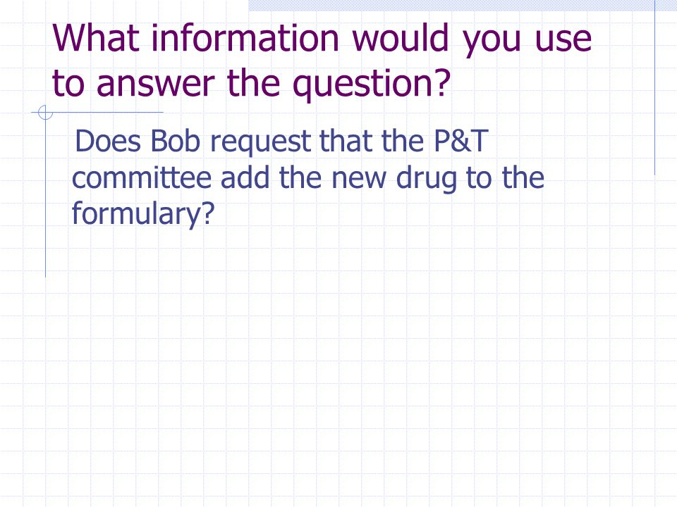 model answer to question of drug This article guides on the job interview of a pharmacist with some questions and answers pharmacist interview questions and answers drugs question.