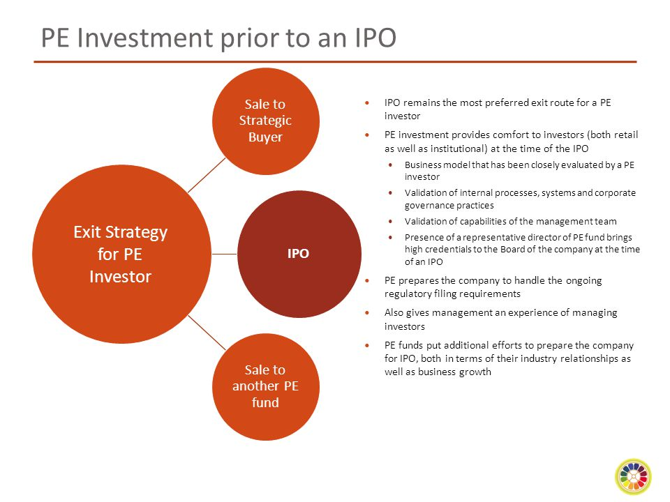 PE Investment prior to an IPO