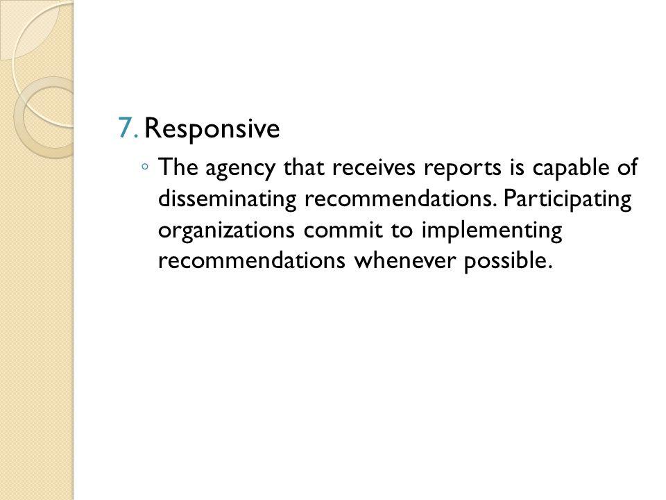 7. Responsive