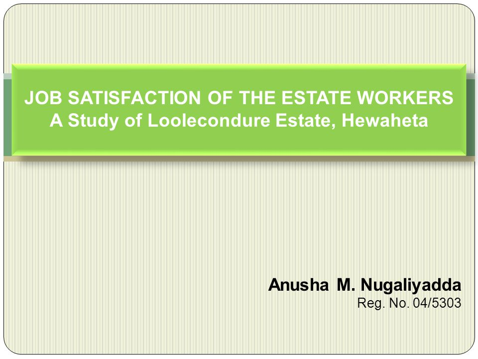Anusha M. Nugaliyadda Reg. No. 04/5303