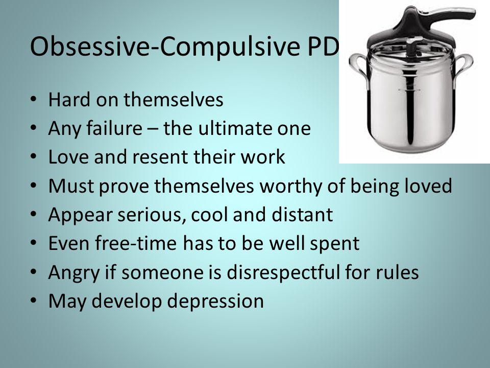 Obsessive-Compulsive PD