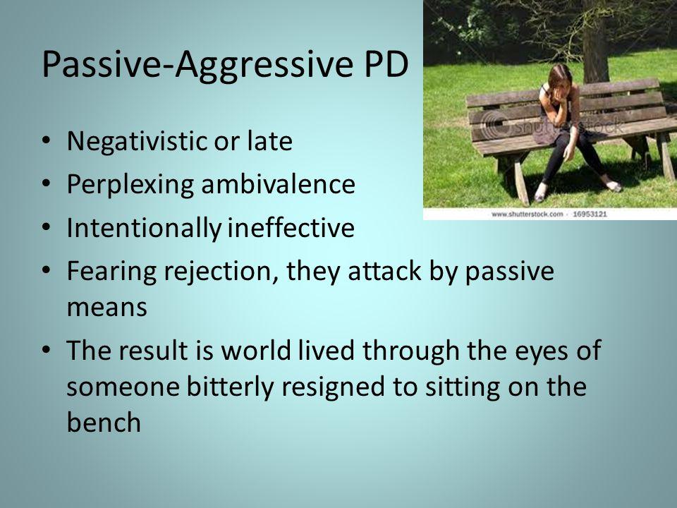 Passive-Aggressive PD