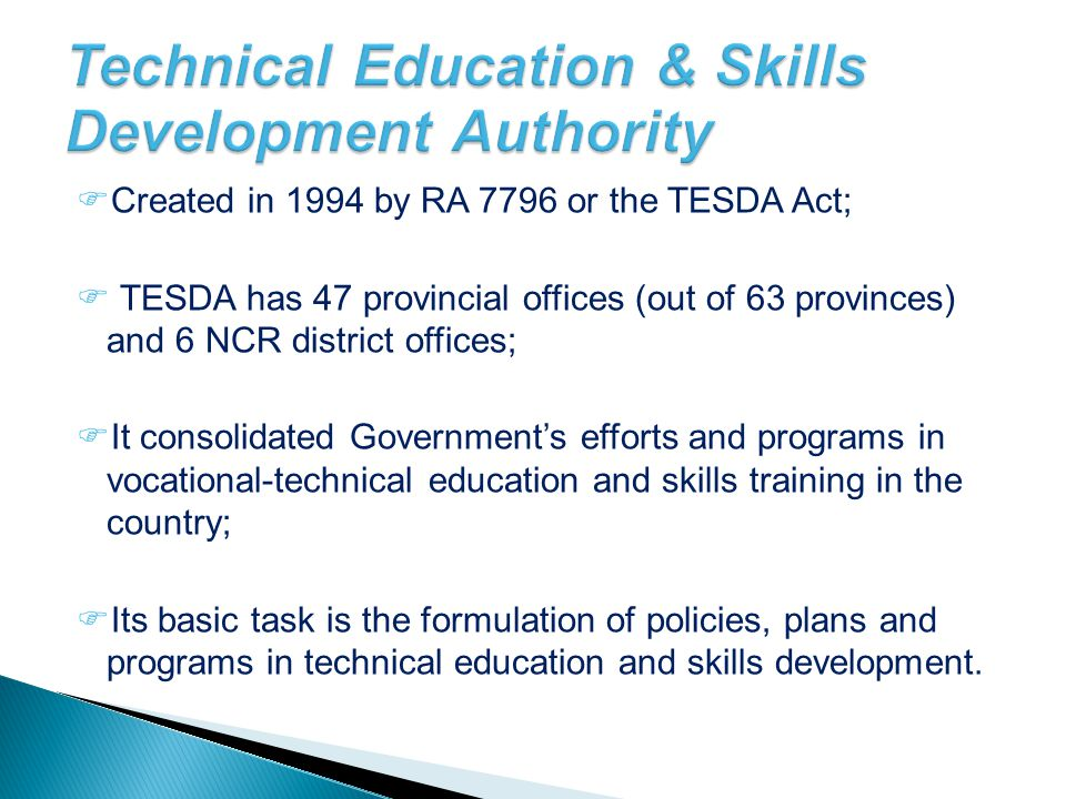 Technical Education & Skills Development Authority
